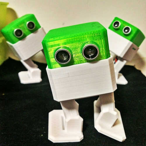 Otto DIY - build your own robot 3D Print 12975
