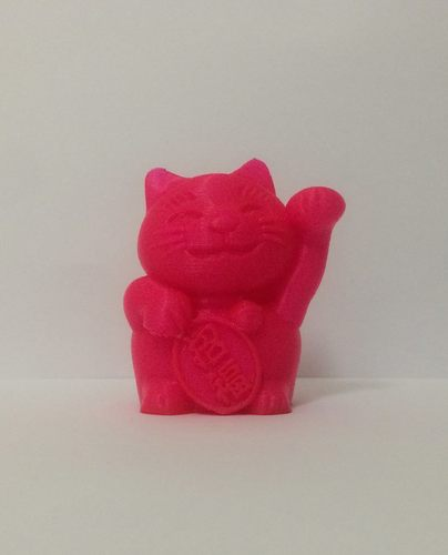 maneki-neko -money cat - Big Bank 3D Print 13101