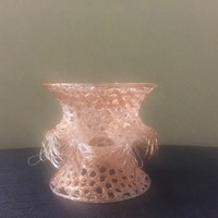 Small Voronoi Costa Big Vase 3D Printing 13112