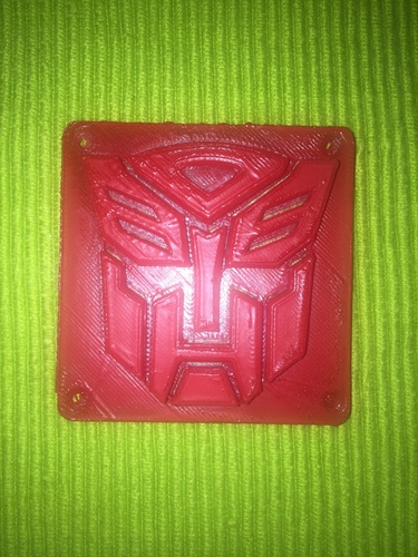 Autobot Transformers LED Nightlight/Lamp 3D Print 13120