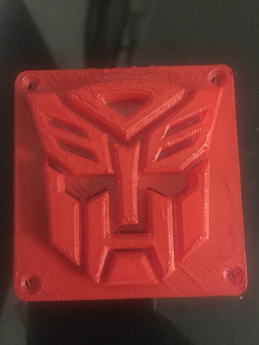 Autobot Transformers LED Nightlight/Lamp 3D Print 13122