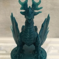 Small Forest Dragon 3D Printing 13141