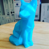 Small Low Poly Fox 3D Printing 13187