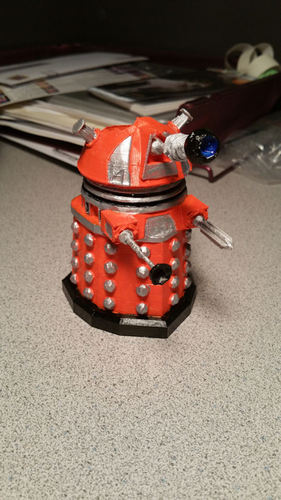 DALEK PEN HOLDER (FROM DOCTOR WHO) 3D Print 1322