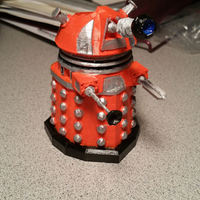 Small DALEK PEN HOLDER (FROM DOCTOR WHO) 3D Printing 1322
