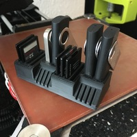 Small USB, SD, and Micro SD card holder 3D Printing 13253