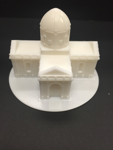 Easy to print Saint Miguel Chapel 3D Print 13292