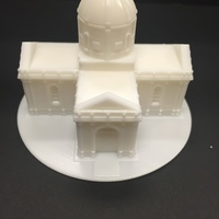 Small Easy to print Saint Miguel Chapel 3D Printing 13292