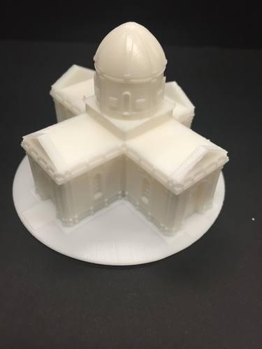 Easy to print Saint Miguel Chapel 3D Print 13293