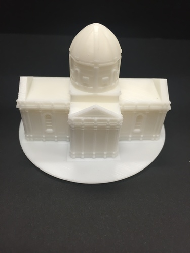 Easy to print Saint Miguel Chapel 3D Print 13294