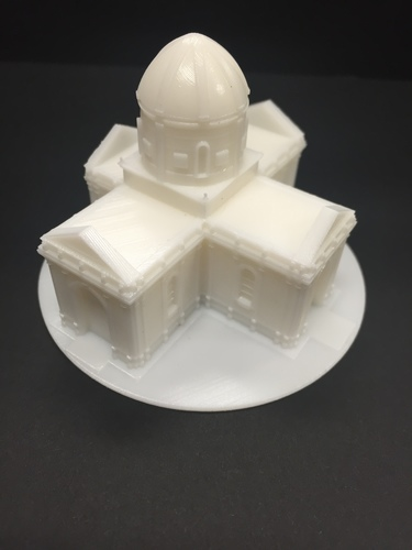 Easy to print Saint Miguel Chapel 3D Print 13295