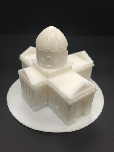 Easy to print Saint Miguel Chapel 3D Print 13296