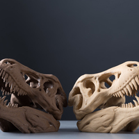 Small The T-Rex Skull 3D Printing 13310