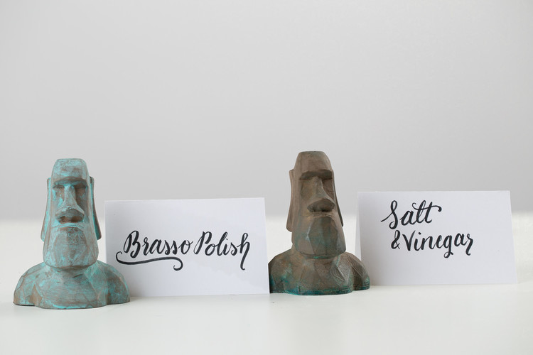 Low Poly Moai 3D Print 13314