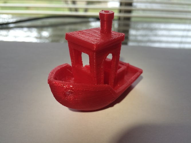 #3DBenchy - The jolly 3D printing torture-test 3D Print 13339