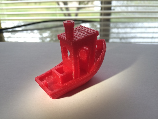 #3DBenchy - The jolly 3D printing torture-test 3D Print 13340