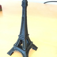 Small The Eiffel Tower Miniature 3D Printing 1336