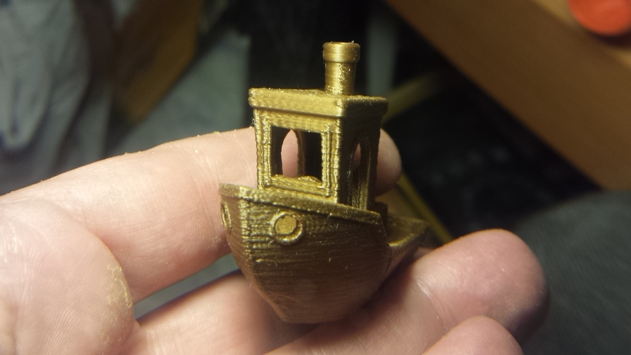 #3DBenchy - The jolly 3D printing torture-test 3D Print 13383
