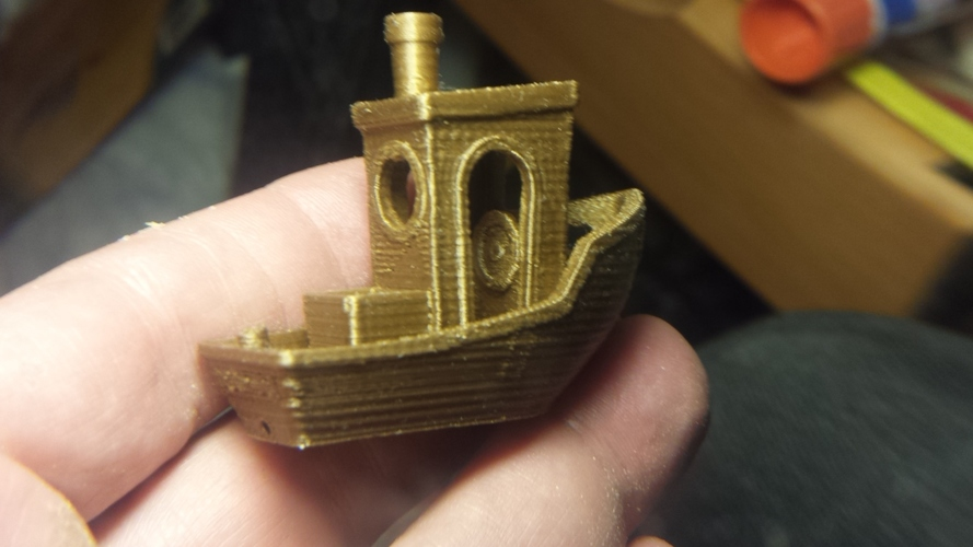#3DBenchy - The jolly 3D printing torture-test 3D Print 13386