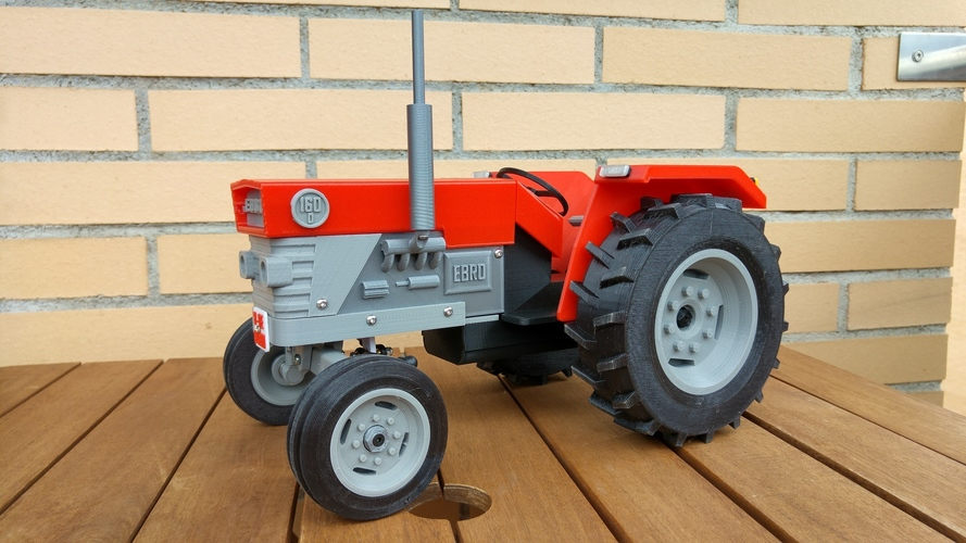 OpenRC Tractor 3D Print 13479