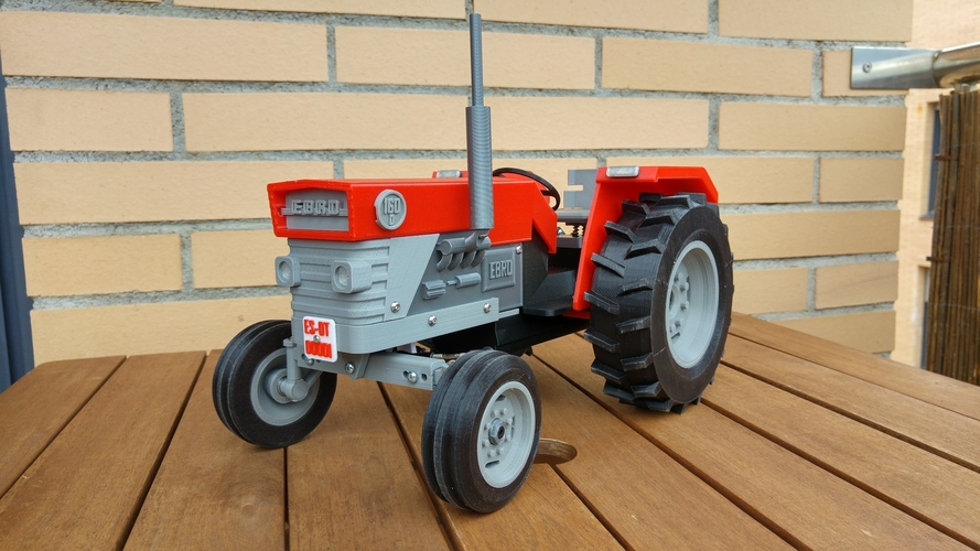OpenRC Tractor 3D Print 13480