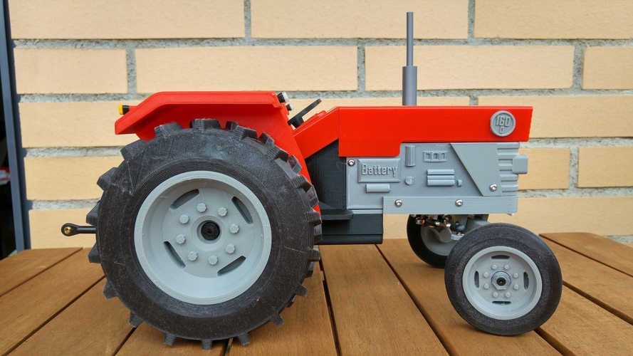 OpenRC Tractor 3D Print 13481