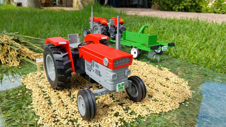 OpenRC Tractor 3D Print 13482