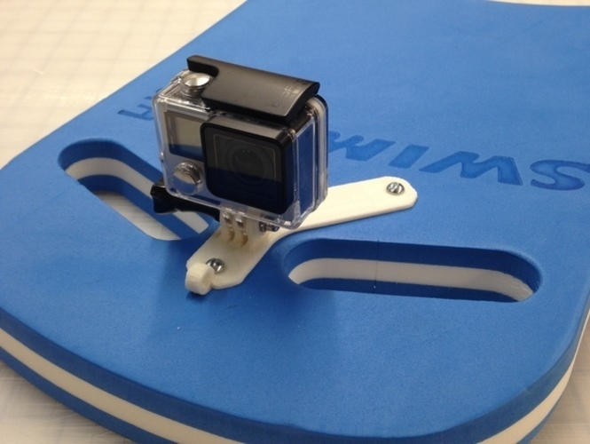 GoPro Kick Board Mount 3D Print 13486