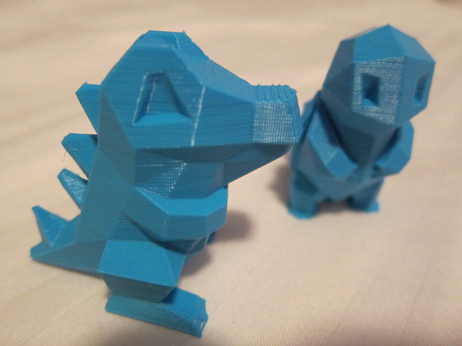 Low Poly Pokemon  3D Print 1353