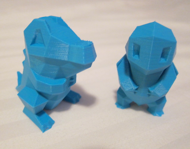 Low Poly Pokemon  3D Print 1356