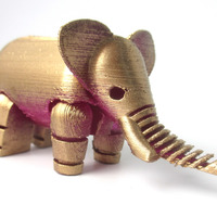 Small Elephant 3D Printing 13590