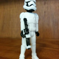 Small Stormtrooper Officer 2.0 3D Printing 13621
