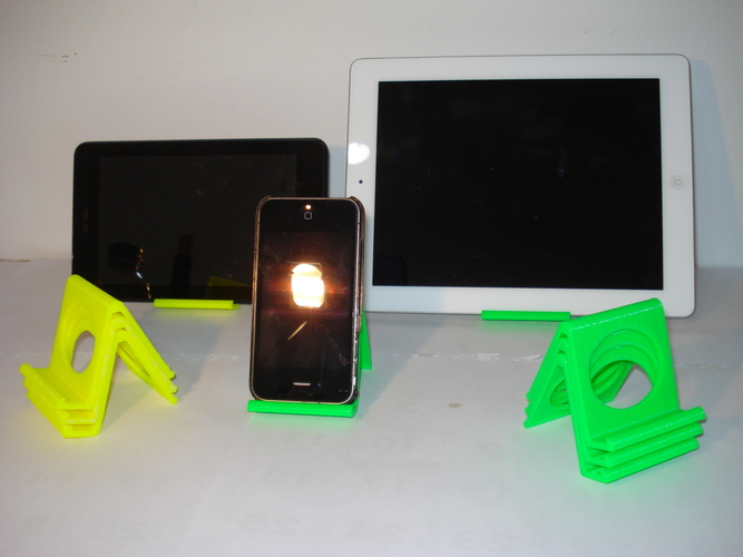 iPhone and iPad stand-REV. 2 3D Print 13675