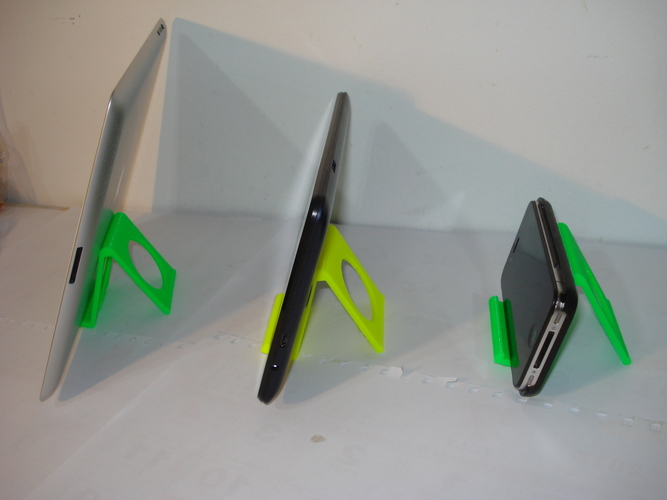 iPhone and iPad stand-REV. 2 3D Print 13676