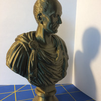 Small Julius Caesar (scan the world) 3D Printing 13687