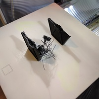 Small Low Poly Tie Fighter - Star Wars 3D Printing 13720