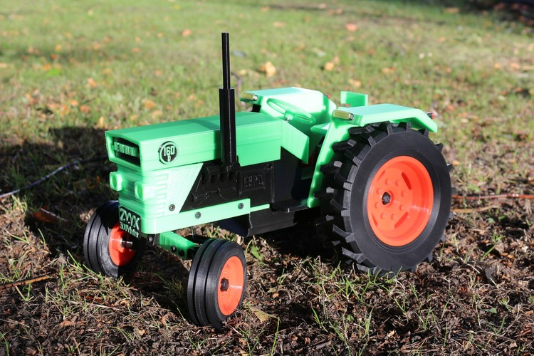 OpenRC Tractor 3D Print 13796