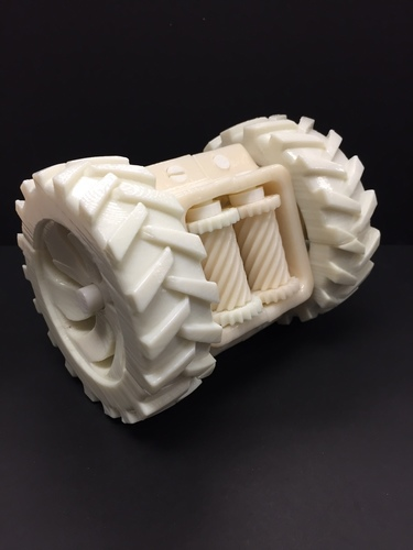 Locked Differential Drive 3D Print 13831