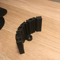 Small Headphone holder 3D Printing 13869