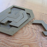 Small Puzzle of Evil 3D Printing 1387