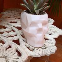 Small Low Poly Skull 3D Printing 13877