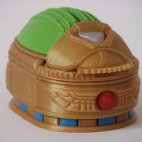 Small Scarab Beetle Box (with secret lock) 3D Printing 13882