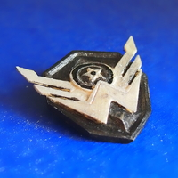 "Small Icon of game ""Warface"" 3D Printing 1390"