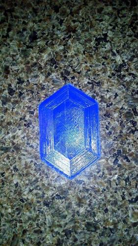 Rupee Magnet (The Legend of Zelda) 3D Print 13901