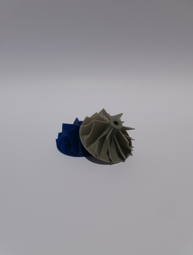 Turbochargerwheel 3D Print 13927