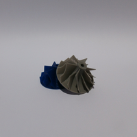 Small Turbochargerwheel 3D Printing 13927