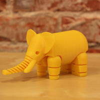 Small Elephant 3D Printing 14