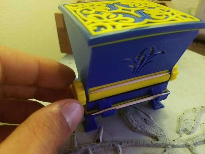Toothpick Dispenser 3D Print 14011