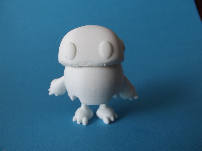 Wip: Tiny articulated bot 3D Print 14020