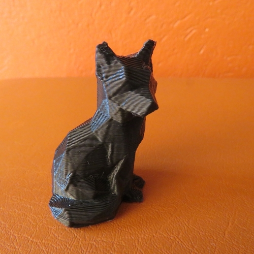 Low Poly Fox 3D Print 14032